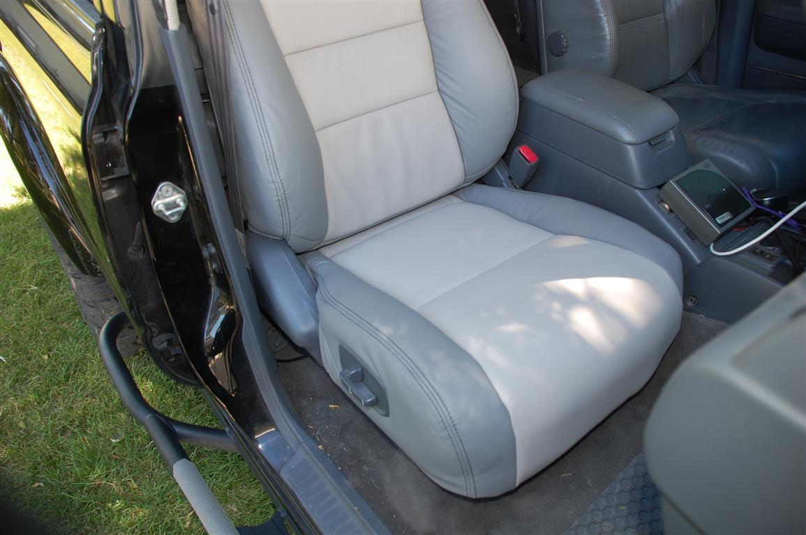 Land Cruiser Heaven 80 Series Leather Seat Covers