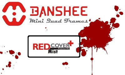 Banshee GoJira V2 Red Mist Warranty Cover