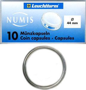 Капсулы для монет 44.00 мм. 1 * 10 шт. Lighthaus / Leuchtturm.