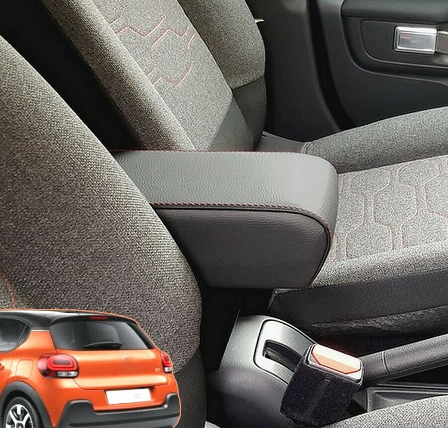 Armrest with storage for Citroen C3 (from 2017) - mittelarmlehne