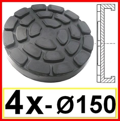 SET OF 4 PADS for Ravaglioli 2 Post D. 150 mm - tampons