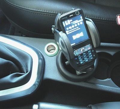 Portatelefono per Freelander 2 (2007-2012)