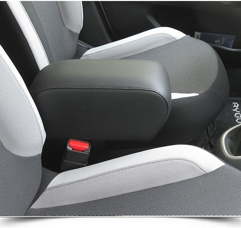 Armrest with storage for Citroen C1 (2014>) - Peugeot 108 - Toyota Aygo (2014>)
