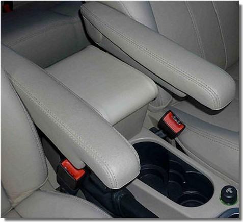 Portaoggetti per Freelander 2 (2007-2012) per versioni con braccioli originali nei sedili