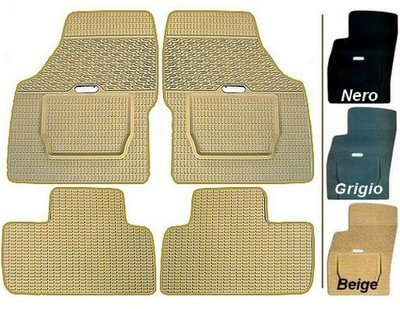 Land Rover - Rubber Floor mats - custom made - 3 colors