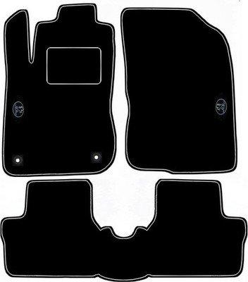 Peugeot 2008 - Tappeti design con cuciture bianche