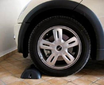 Wheel locks for parcking and garage - MADE IN ITALY - park stop