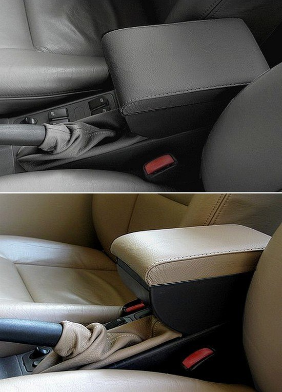 Adjustable armrest with storage for Saab 9.3 (1998-2003) and 900 s/se (1994-1998)