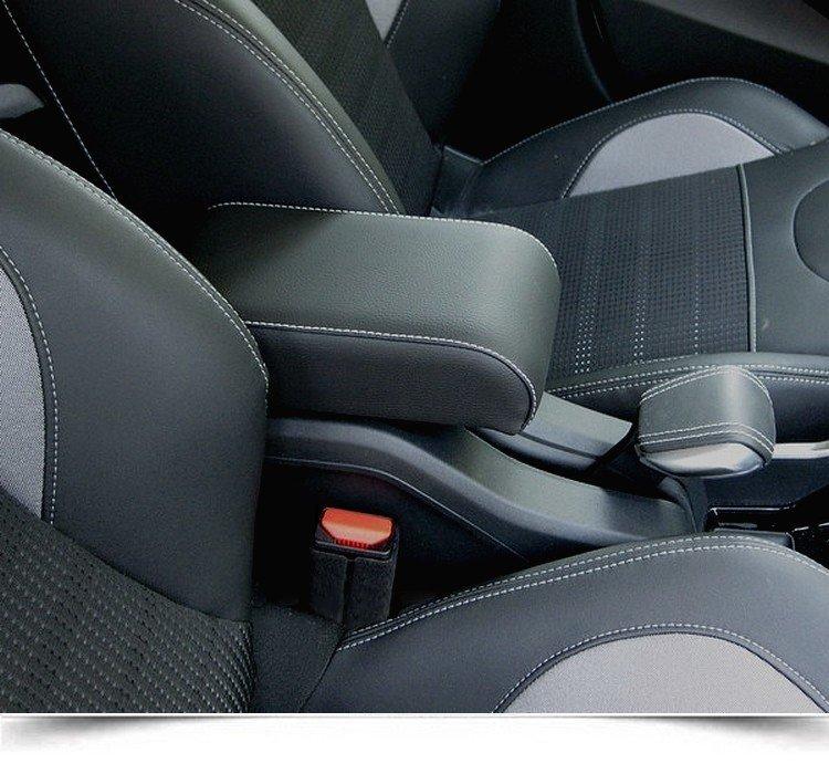 """Bracciolo per Peugeot 2008 - montaggio """"plug in"""" - regolabile in lunghezza - accoudoir"""