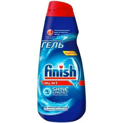Гель для посудомоечных машин Finish (Финиш) Блеск и защита 1л