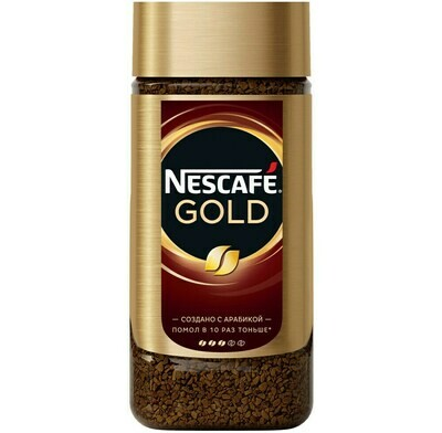 Кофе растворимый NESCAFE GOLD 190гр