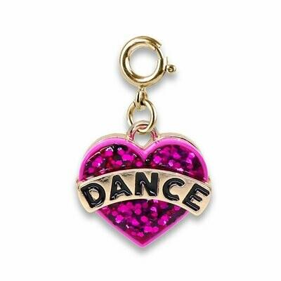 Charm It - Charms 12/19 Gold Glitter Dance