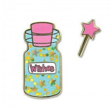 CHARM IT! Enamel Pins Wishes Bottle