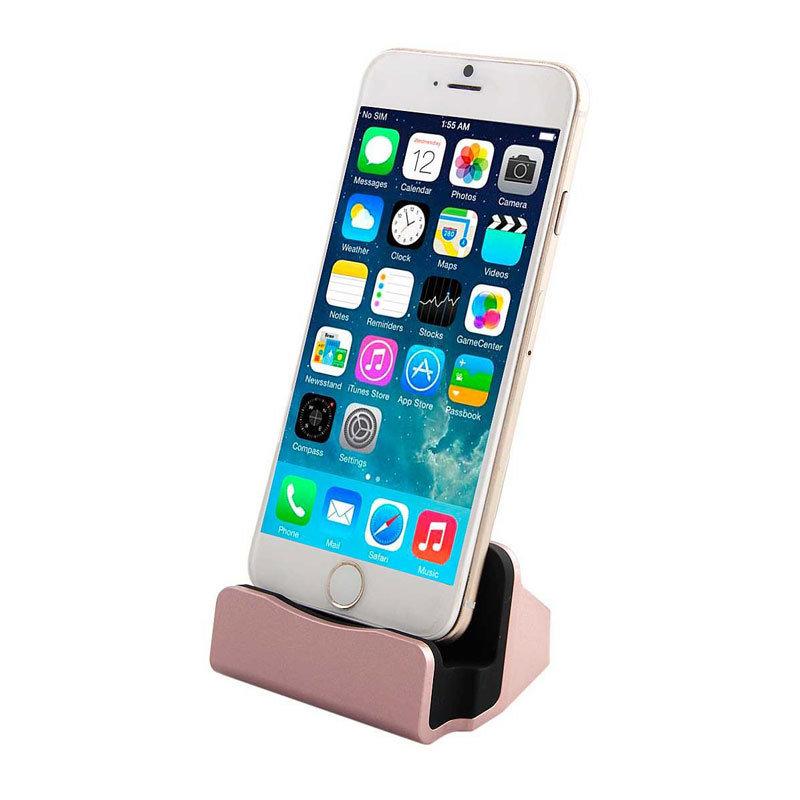 Station d'accueil dock, chargeur et Sync pour iPhone - Gold