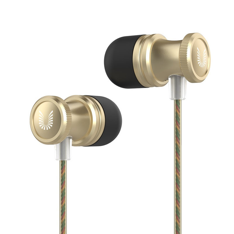 Ecouteur avec microphone UiiSii US80 - Gold
