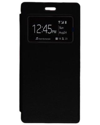 Flip cover pour infinix Note 2 - X600 - Noir