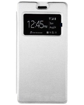 Flip cover pour infinix Hot 3 X553 - Blanc