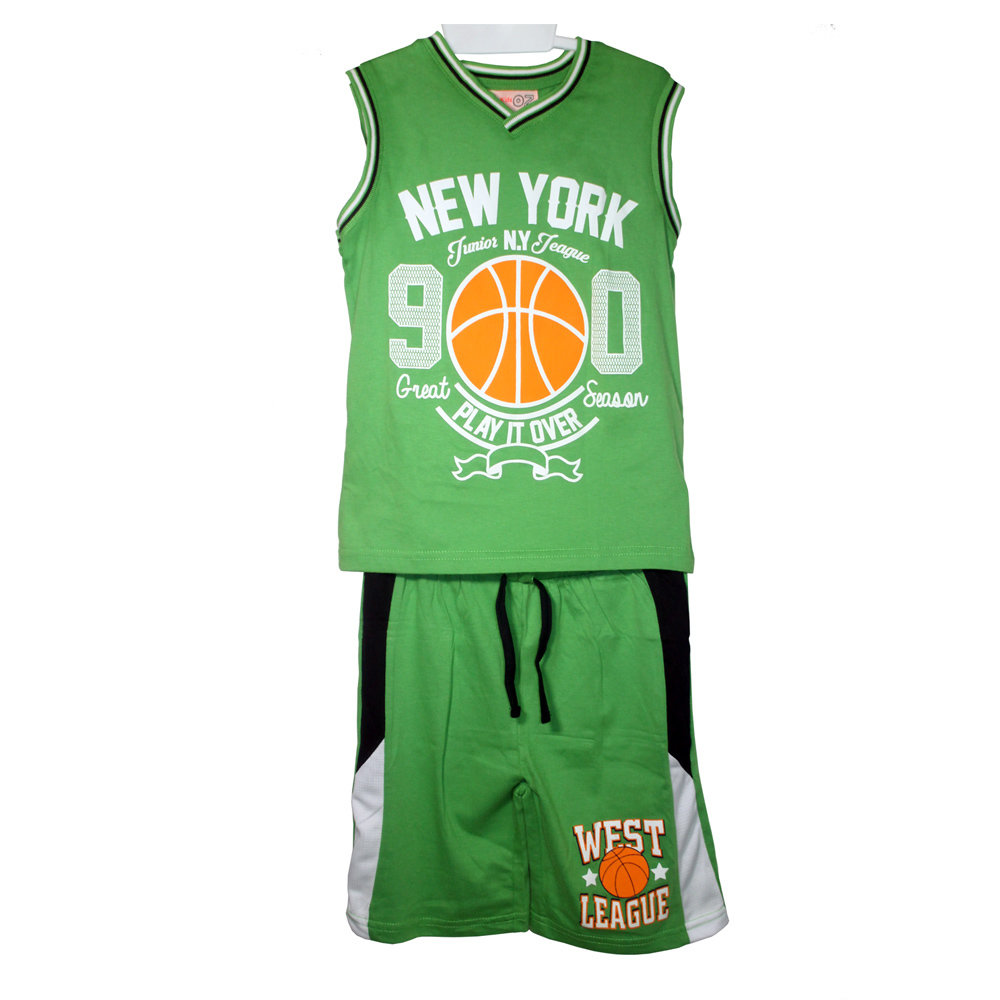Pyjashort 'West League' pour garçon -Taille 6 ans- Vert