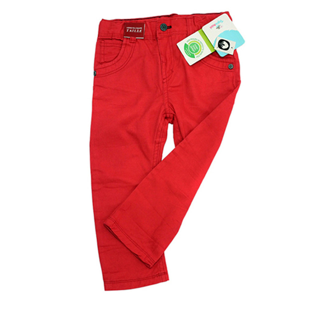 Pantalon en toile pour garçon 'Topomini' - Taille 6-9 mois