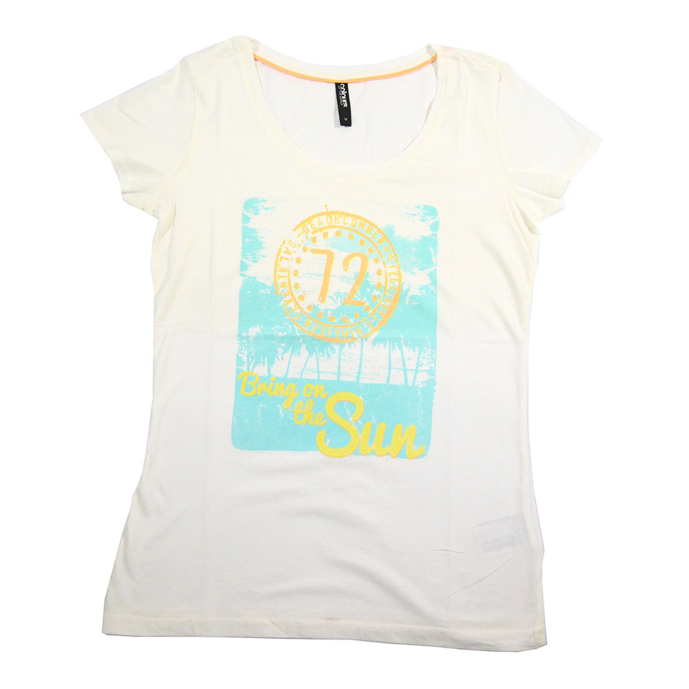 T-shirt 'Colours of the World' pour femme- Taille M