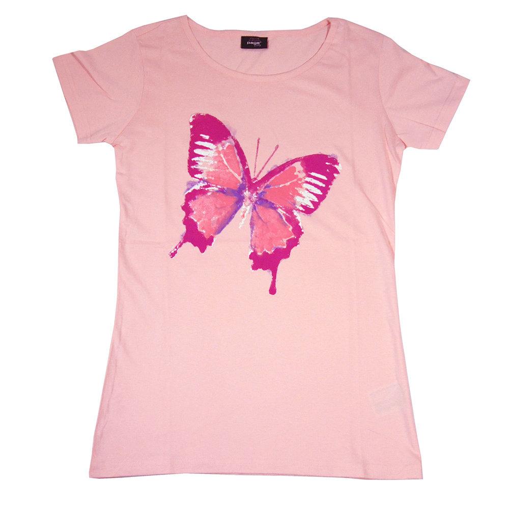 T-shirt 'Papillon' pour fille - Taille 15-16 ans