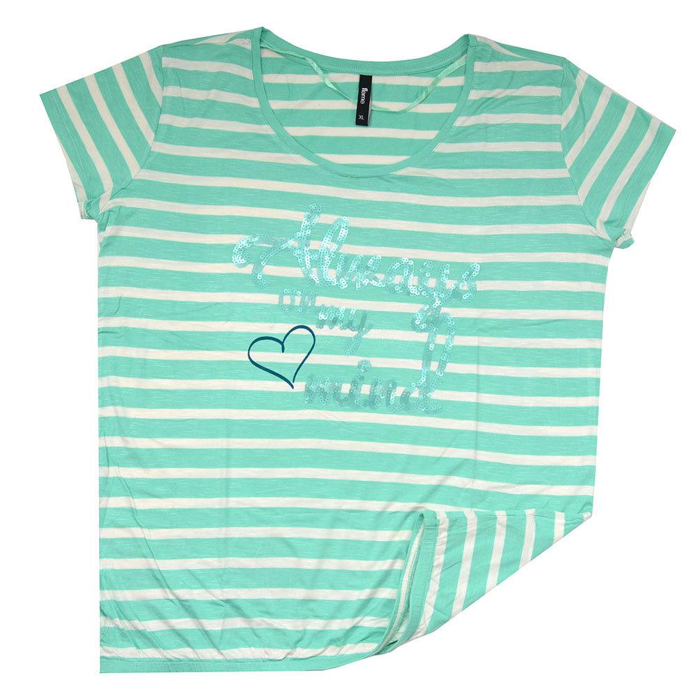 T-shirt 'Flame' pour femme - Taille XL