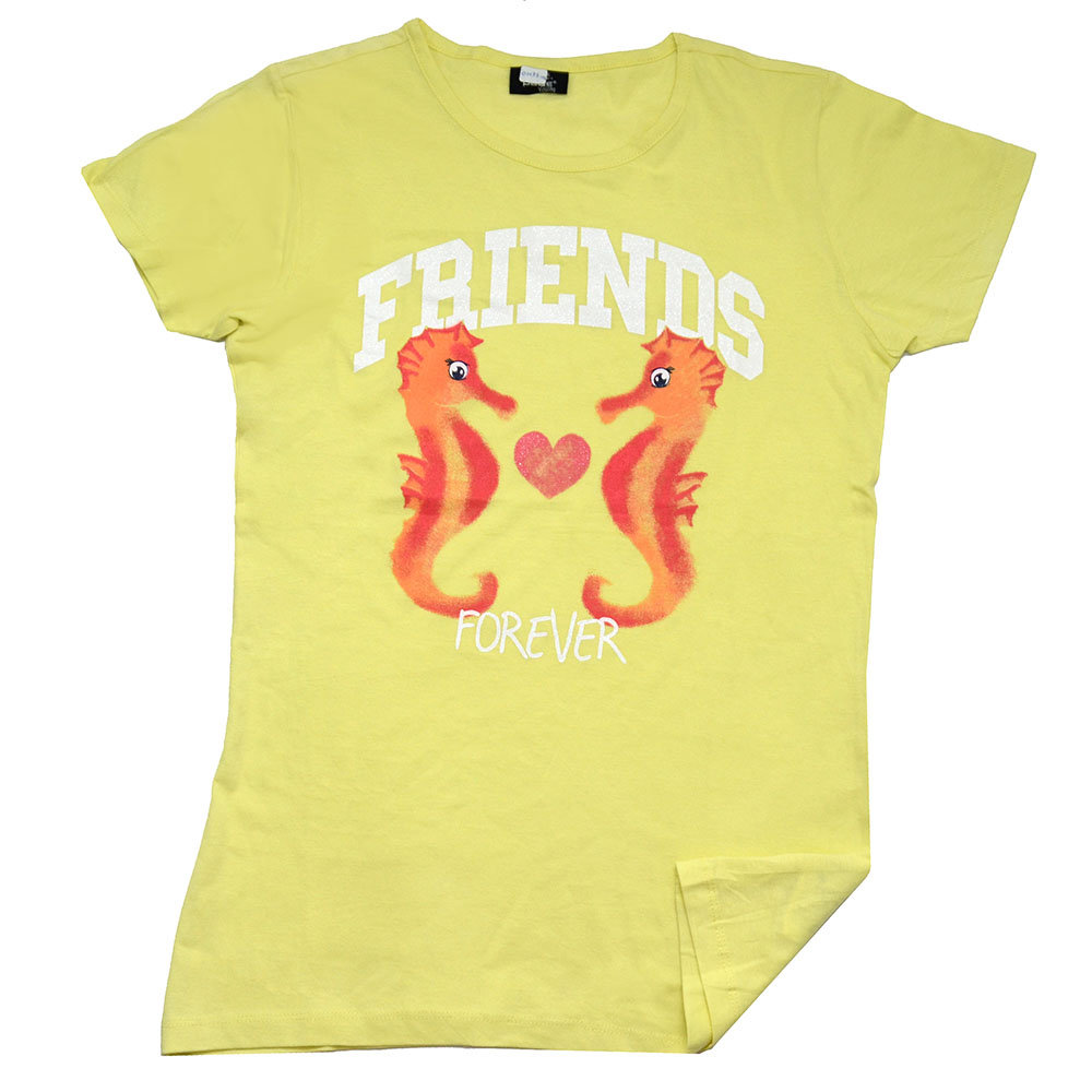 T-shirt 'Page One Young' pour femme - Taille 14-15 ans
