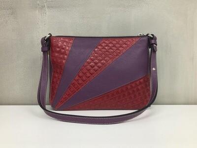 Lisa - Burgundy & Purple