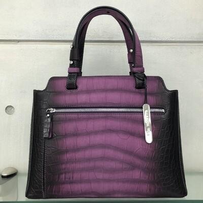 Marie - Purple & Black