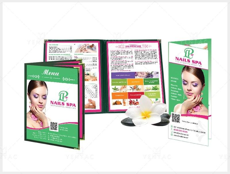 03 - Menu Book Size 8.5x11 - Client ID #5069 LP Brand