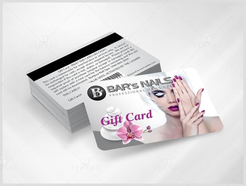 Plastic Gift Card Template - GCD-00032
