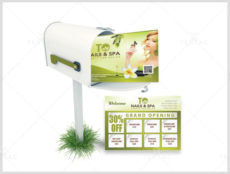 50 - Marketing - Every Door Direct Mail (EDDM) TO Brand Franchise 3011
