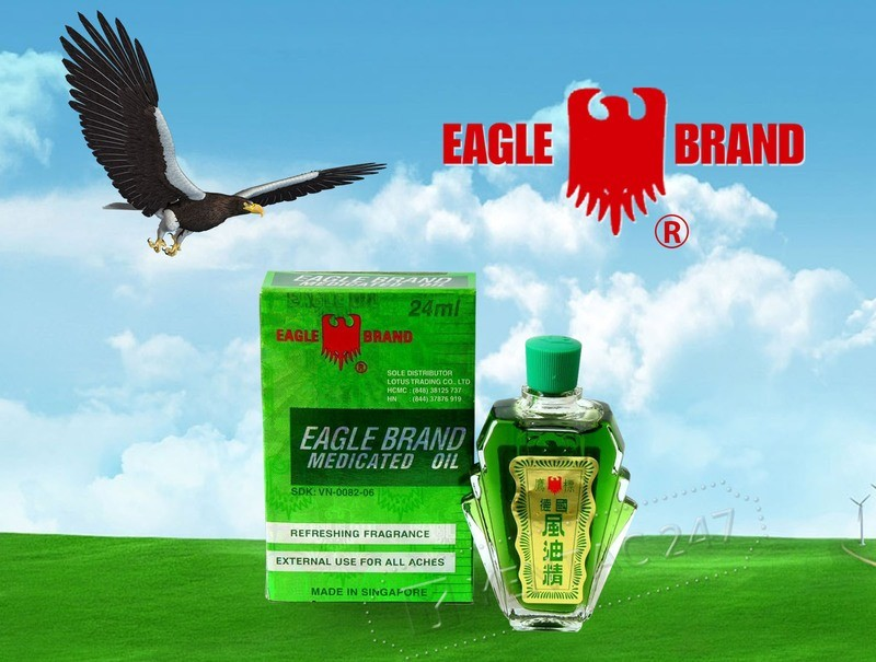 Shipping Eagle Brand Medicated Oil