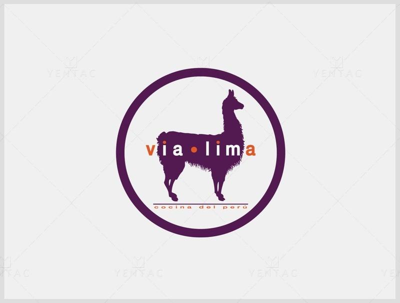 01 - Logo & Signage Design - Restaurant #8000 Via