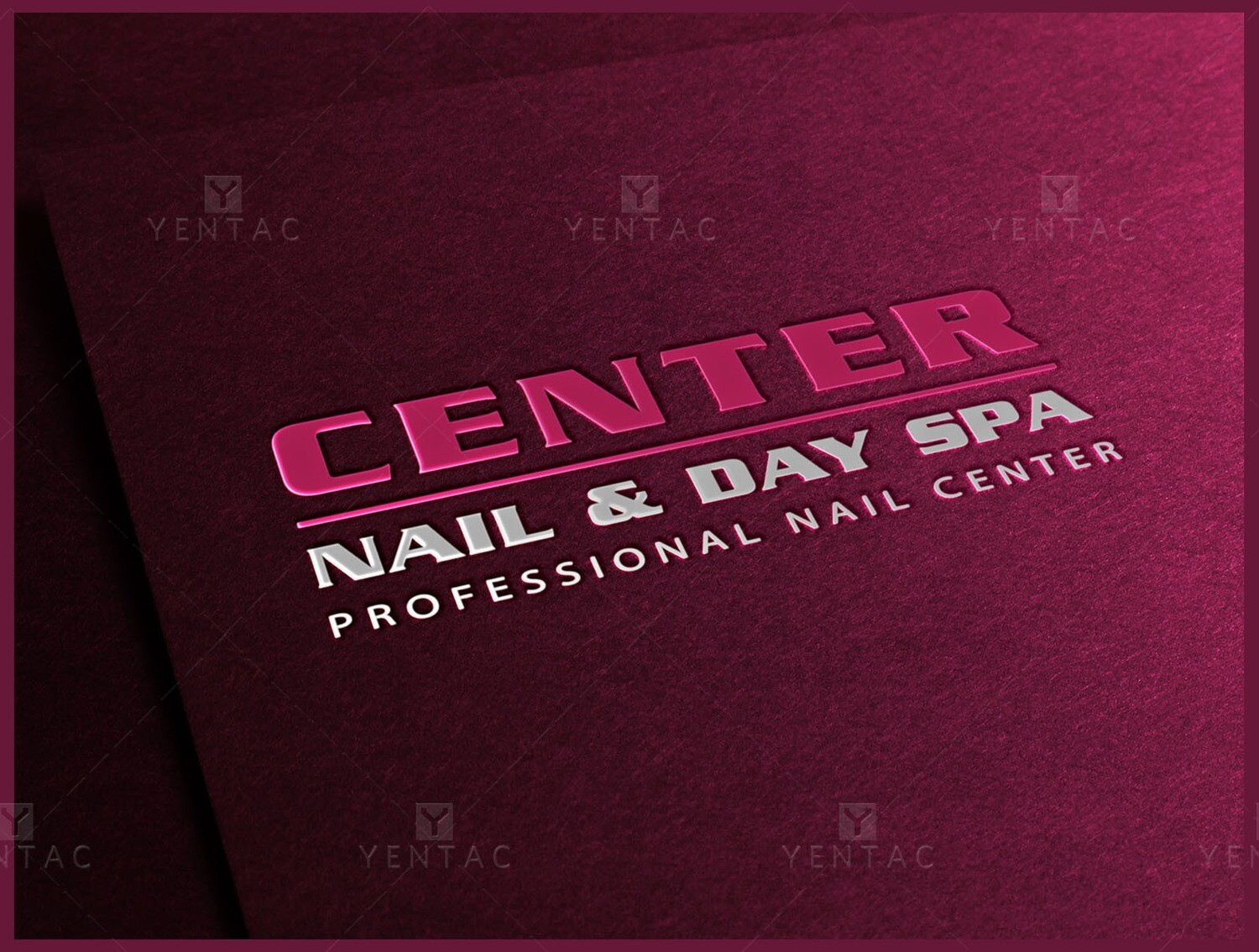 01 - Logo - Nail Salon #5053 Center Brand