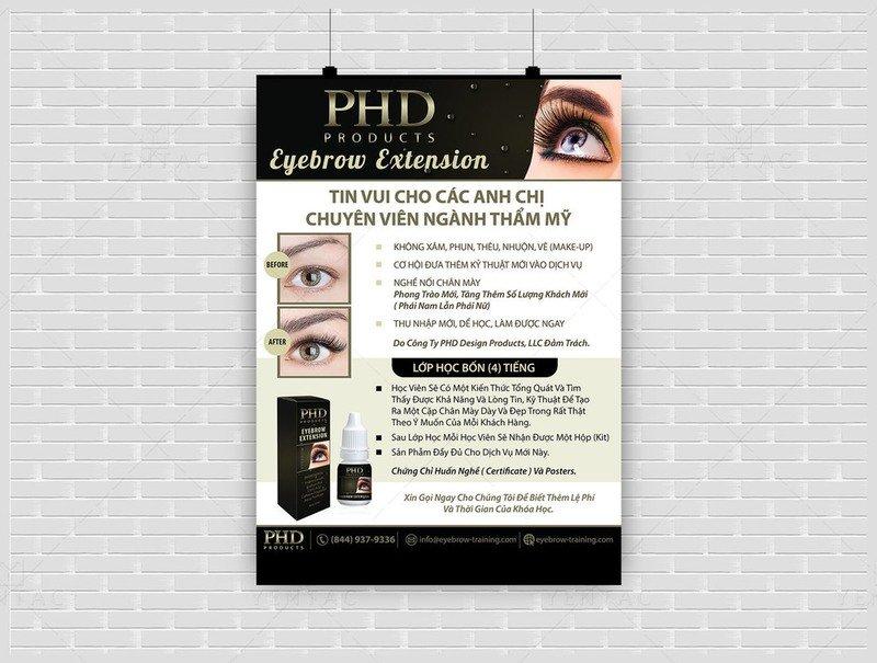 Eyebrow Workshop by PHD Team