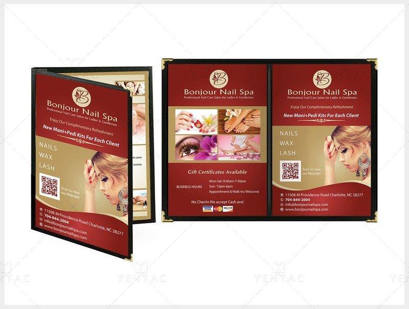 03 - Menu Book Size 8.5x11 - Client ID #5070 Bonjour Brand