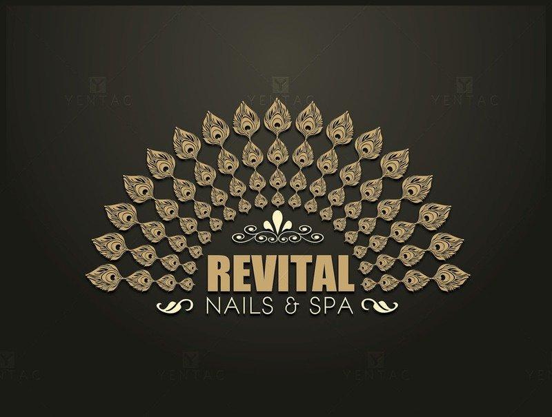 01 - Logo - Nails Salon #5010 Revital Brand