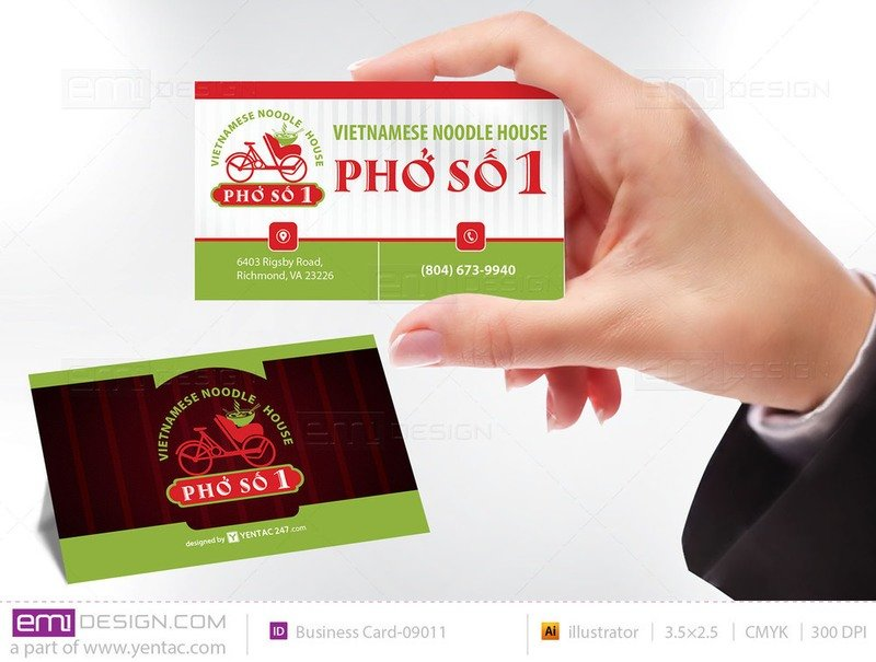 Business Card - Templates buscard-09011