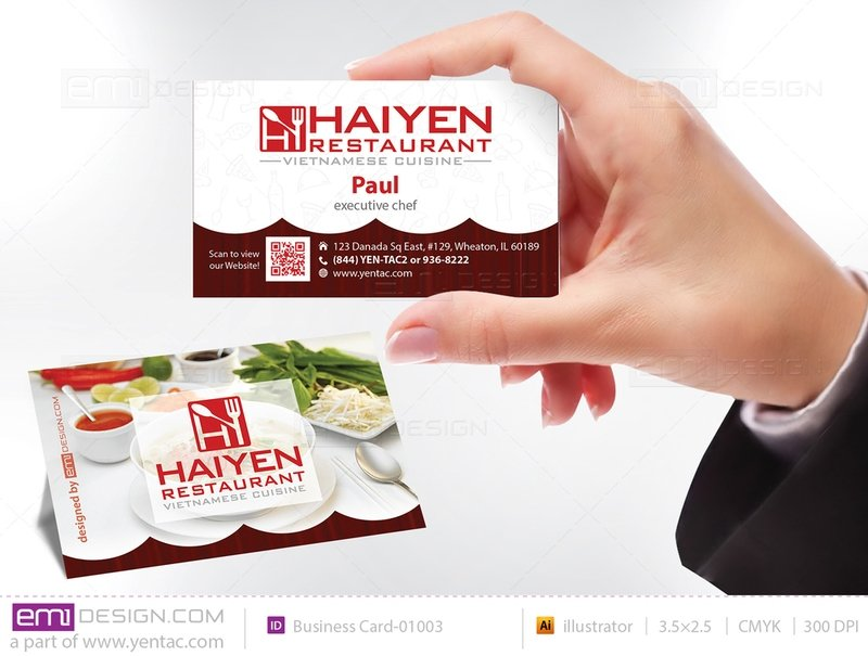 Business Card - Templates buscard-01003