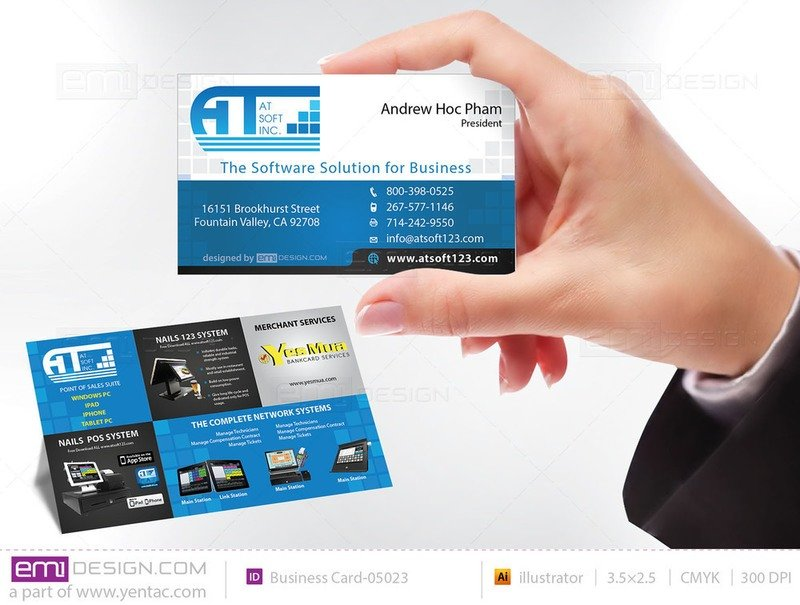 Business Card - Templates buscard-05023