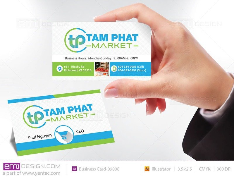 Business Card - Templates buscard-09008