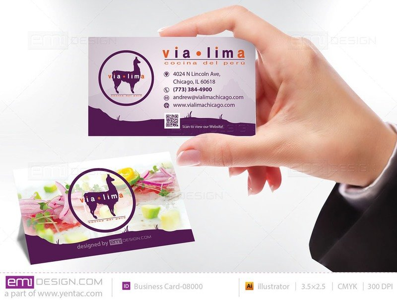 Business Card - Templates buscard-08000