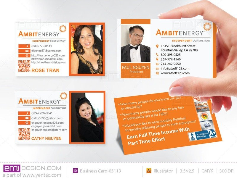 Business Card - Templates buscard-05119