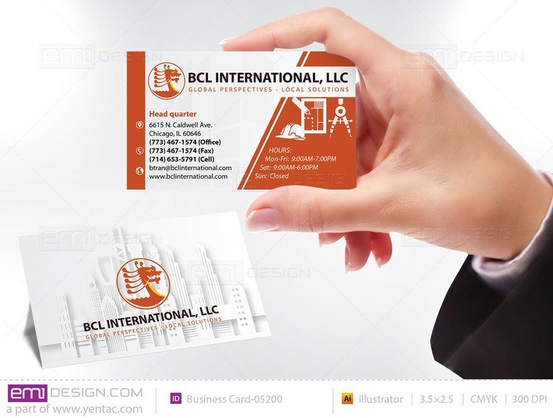 Business Card - Templates buscard-05200
