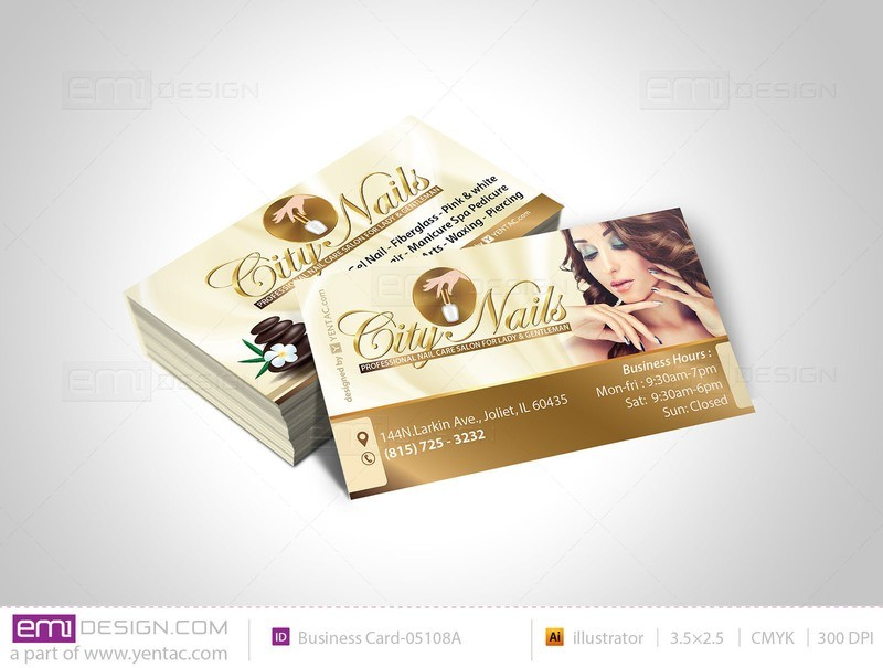 Business Card - Template - buscard-05108A