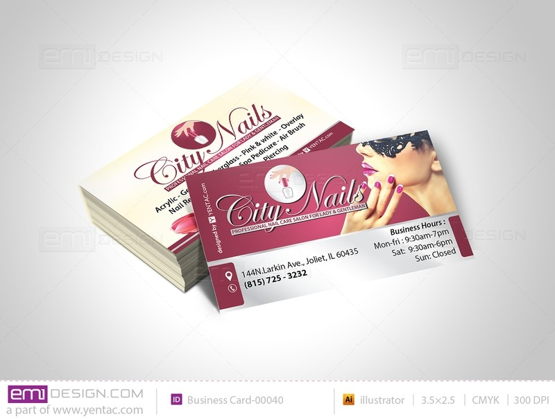 Business Card - Template - buscard-05108B