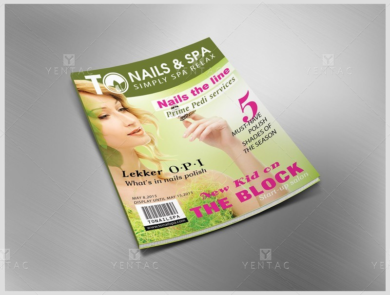 10 - Magazine Publication/Catalog Custom Design & Printing