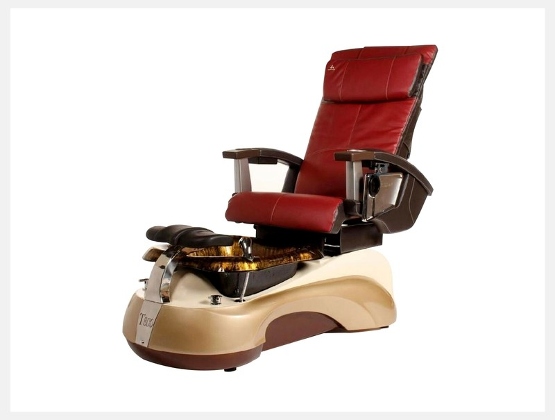 Pedicure Spa Chair - Red