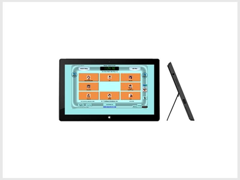 Windows Tablet Nails Salon System